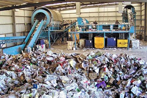 Инсталации за преработка на отпадък